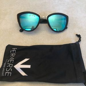 Black and Blue Perverse Sunglasses